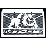 Kühlerverkleidung / Kühlerabdeckung Yamaha MT-07 und Moto Cage + silber Gitter