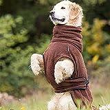 Hunde Bademantel Dryup Cape (S, braun) - 2