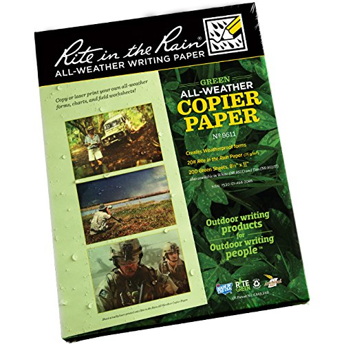 rite-in-the-rain-unisex-a4-waterproof-copier-and-laser-paper-green