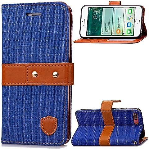 iPhone 7 Custodia, Cozy Hut ® Folio Custodia per Apple