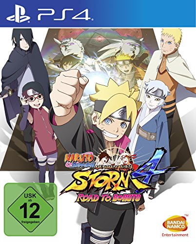 Naruto Shippuden Ultimate Ninja Storm 4: Road to Boruto - [Playstation 4] - Ninja Ultimate Ps3 Naruto