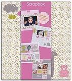 Toga Naissance Kit de Scrapbooking Scrapbox, Autre, Rose, 23 x 26 x 5.cm KT72