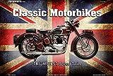 Triumph ST Speed Twin UK Classic Motorrad Blechschild
