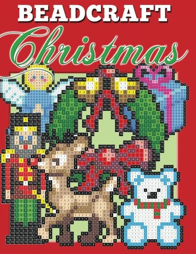 Beadcraft Christmas: Holiday patterns for Perler, Qixels, Hama, Simbrix, Fuse, Melty, Nabbi, Pyslla, cross-stitch and more!