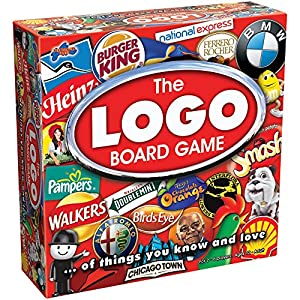 Drumond Park The LOGO Board Game - The Family Board Game of Brands and Products You Know and Love   Family Games For Adults And Kids Suitable From 12+ Years