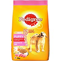 Pedigree Puppy Dry Dog Food- Chicken & Milk, 1.2kg Pack
