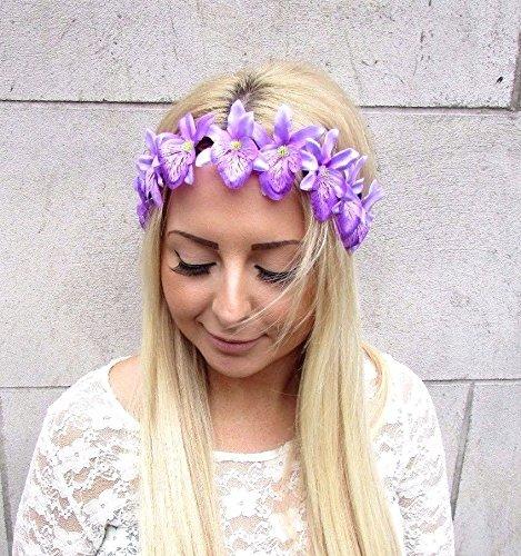 Morado-orqudea-guirnalda-de-flores-diadema-de-pelo-corona-de-flores-hawaianas-Festival-2450-Exclusivamente-Se-Vende-por-STARCROSSED-Boutique
