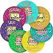 Music Piano Reward Sticker Labels, 35 Stickers @ 3.5cm, Glossy Photo Quality, Ideal for Children Parents Teachers Schools Doctors Nurses Opticians Pupils Classrooms Merit Motivation Praise