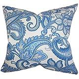 Das Kissen Collection Galila Kissenbezug, Blumenmuster, Blau