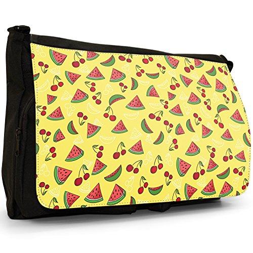 Fancy A Snuggle, Borsa a spalla donna Large Cherry & Watermelon Slices