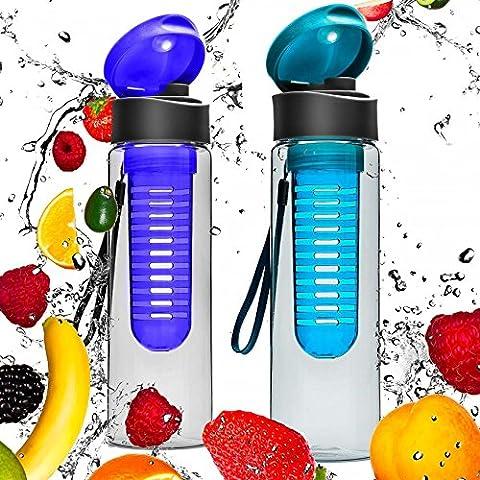 2 da Borraccia da 700ml »FruitExplosion« per bevande a base
