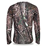 VGEBY Camouflage T-Shirt Langarm at...