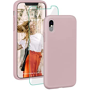 SURPHY Cover iPhone XS Cover iPhone X Silicone Custodia iPhone X