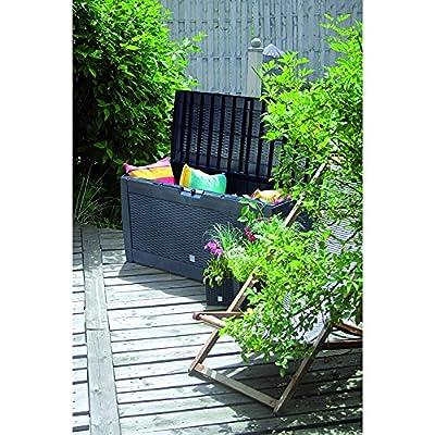 Auflagenbox 120x50x60 Gartentruhe Kissenbox Universalbox Kissentruhe Werkzeugbox in verschiedenen Farben und Mustern von Unbekannt auf Du und dein Garten