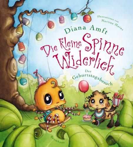 Buchseite und Rezensionen zu 'Die kleine Spinne Widerlich - Der Geburtstagsbesuch' von Diana Amft