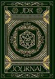 JDR Journal: Carnet de Jeux De Rôle pour Maître du jeu   RPG Game Master   Carnet pour noter vos aventures, Plans, Armes, Stratégies   Idée de cadeau   150 pages 17,78 cm x 25,4 cm Coloris Vert