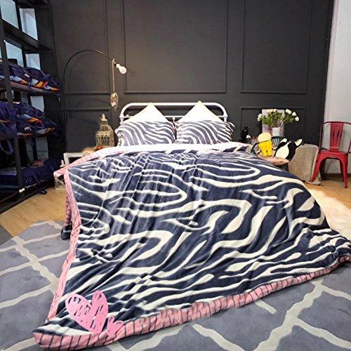 Perkal-doppel-duvet-set (cartoon blume bettwäsche schlafzimmer warm halten Bettbezüge Polyester königin könig doppelbett Bettbezug Sets elegante mode geschenk 4 stücke , 002 , 220x240cm)