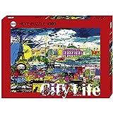HEYE 29741 - Standardpuzzle, I love Paris 1000 Teile, Kitty McCall, mehrfarbig