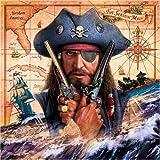 Schmidt Spiele 58129 - Pirat, Quadratpuzzle, 1000 Teile