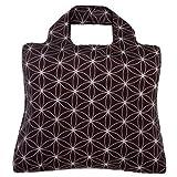 Envirosax Midnight Safari Tasche 1–zusammenklappbar; Wiederverwendbare Einkaufstasche–Tasche für Life