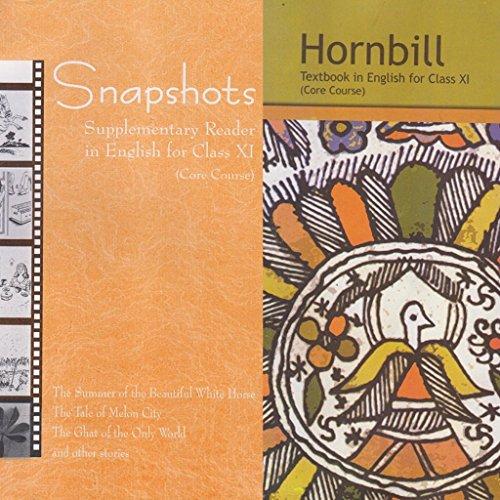 English ncert class 11, English textbook class 11, Hornbill & Snapshot new just some marks