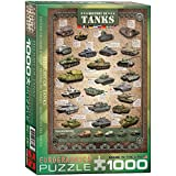 Eurographics 6000-0381 - History of Tanks - Puzzle 1000 Teile