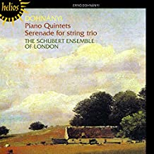 Ernö Dohnányi: Klavierquintette Nr.1 & 2 / Serenade Op.10