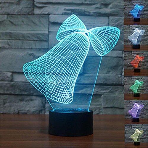 Lampade 3D Tabella Tocco Desk Optical Illusion