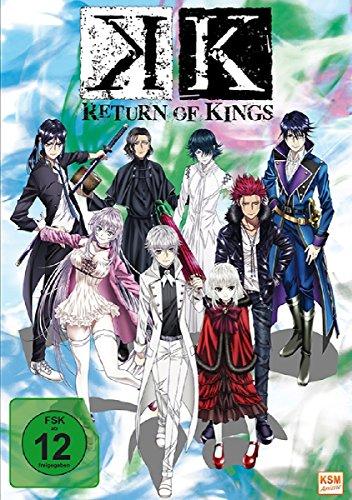 Produktbild K - Return of Kings - Staffel 2.1: Episode 01-05 im Sammelschuber