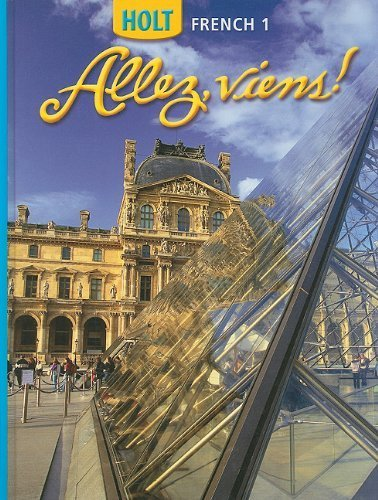 Allez, Viens! French 1 by HOLT, RINEHART AND WINSTON (2006) Hardcover