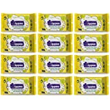 Wippee 30N Usable Baby Wipes With Almond Oil ( Pack Of 12)
