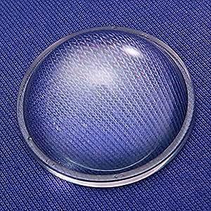 100W Led réflecteur à lentille collimateur optique lentille en verre 10 Degré 44mm.