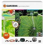 Gardena 2708-20 Sprinkler Complete Set with Large-Area AquaContour...