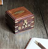 Store Indya Vintage Wooden Box Shaped Pi...