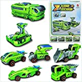 #10: Educational 7 In 1 Changeable Solar Power Energy Robot Car Toy Kit For Kids.