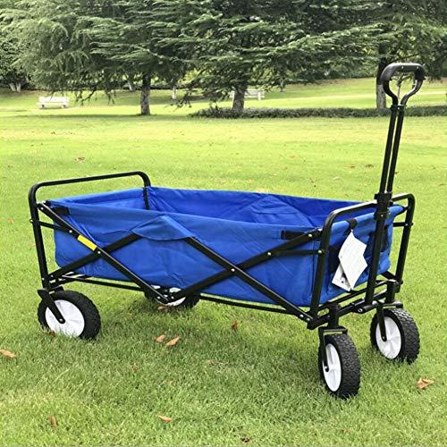 Carros mano, Trolley mano carro plegable cuatro ruedas