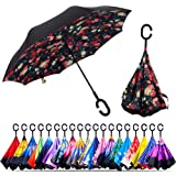 Double Layer Inverted Inverted Umbrella Is Light And Sturdy Easy Edit Vector Illustration Scenic Beauty Reverse Umbrella And Windproof Umbrella Edge