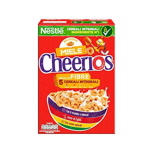Cheerios Miele Ciambelline ai Cereali Integrali con Miele - 375 gr 1 spesavip