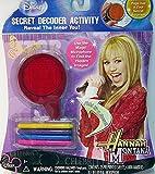 Hannah Montana Secret Decoder Activity