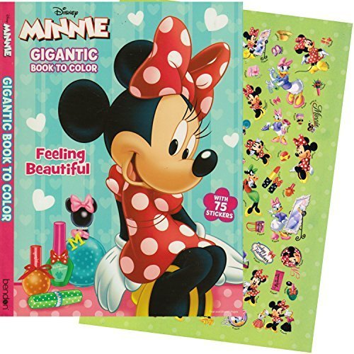 Bendon Publishing Minnie Mouse GIGANTIC Coloring Book with Stickers