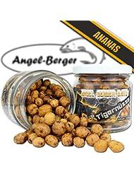 Angel Berger Baits Tiger Nueces diferentes variedades Tiger Nuts nogal en cristal, Ananas