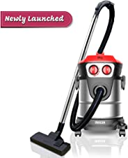 Inalsa Vacuum Cleaner Wet and Dry Micro WD21-1600W with 3in1 Multifunction Wet/Dry/Blowing|Hepa Filteration & 21KPA Powerful