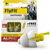 Alpine FlyFit Gehörschutz Ohrstöpsel für Flugzeuge - Regulieren den Luftdruck zur Vorbeugung von Trommelfellschmerzen…