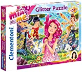 Clementoni Mia and Me – Puzzle, 104 Teile Glitter