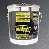 Spray pintura vinilo removible - Wetor Dip - Antracita metalizado - 4 L