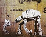 Banksy Kunstdruck I am Your Father Star Wars
