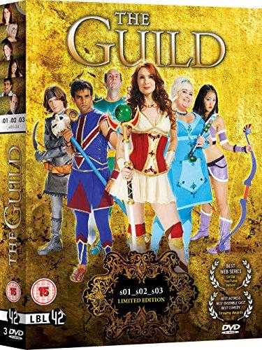 Bild von The Guild: Seasons 1 - 3 [DVD] [UK Import]