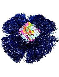 S/o® 2Pack (1x 2) Pom Poms Danza plumero Puschel Danza pompones de animadora pompones de color: azul