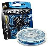 SPIDERWIRE Stealth Blue Camo, geflochtene Angelschnur in einer Blisterverpackung, 270m, verschiedene Durchmesser (270, 0,10mm - 6,20kg)