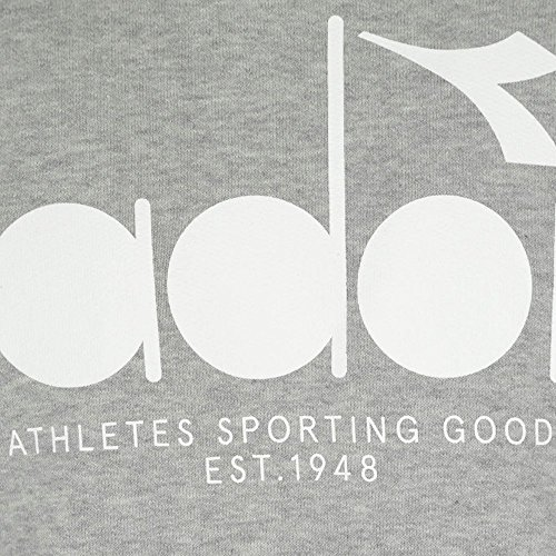 Diadora Hooded Sweat BL Medium Light Grey